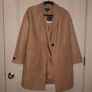 Topshop Jackets & Coats - Topshop camel coat (6P)